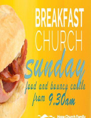 outside church poster a2